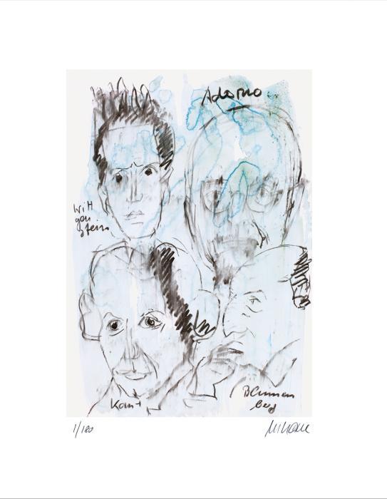 ›Adorno, Wittgenstein, Kant, Blumenberg‹