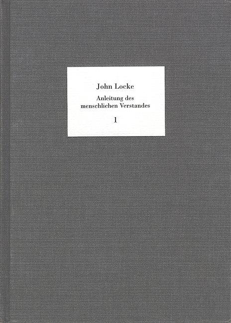 Anleitung des menschlichen Verstandes. 2 Bände