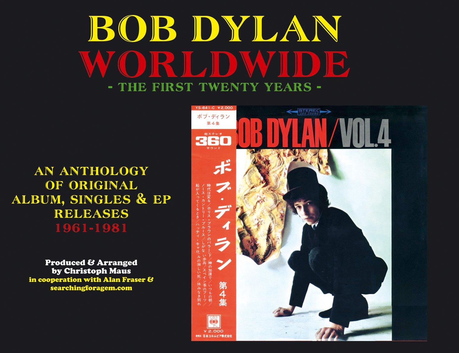 BOB DYLAN WORLDWIDE- The First Twenty Years