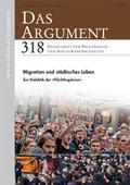 Das Argument - Zeitschrift für Philosophie und Sozialwissenschaften