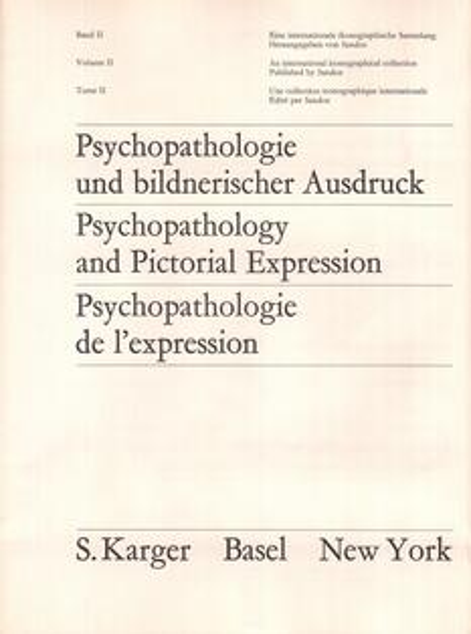 Psychopathologie und bildnerischer Ausdruck