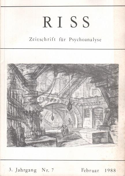 RISS - Zeitschrift für Psychoanalyse