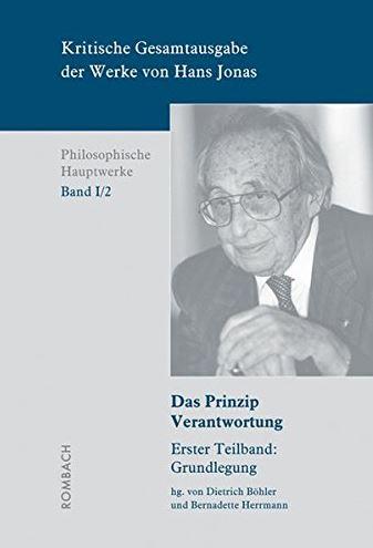 Kritische Gesamtausgabe der Werke von Hans Jonas