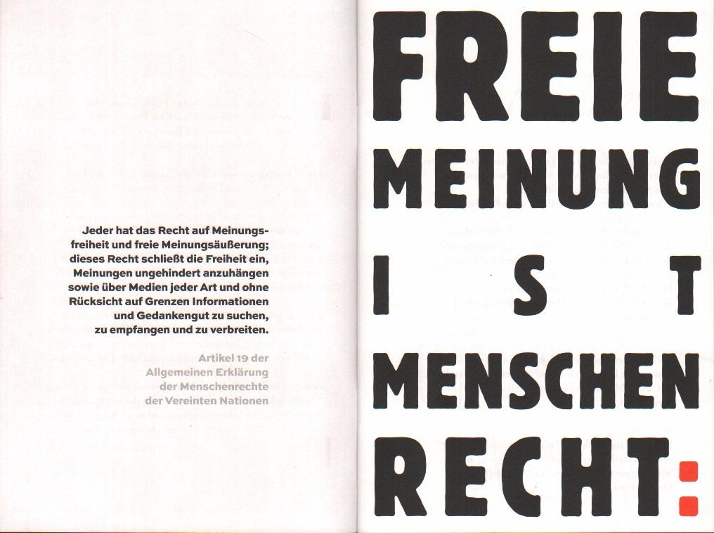 FÜR DAS WORT UND DIE FREIHEIT! bei Sigmund-Freud-Buchhandlung kaufen