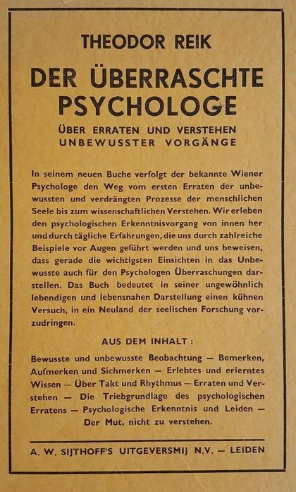 Der überraschte Psychologe