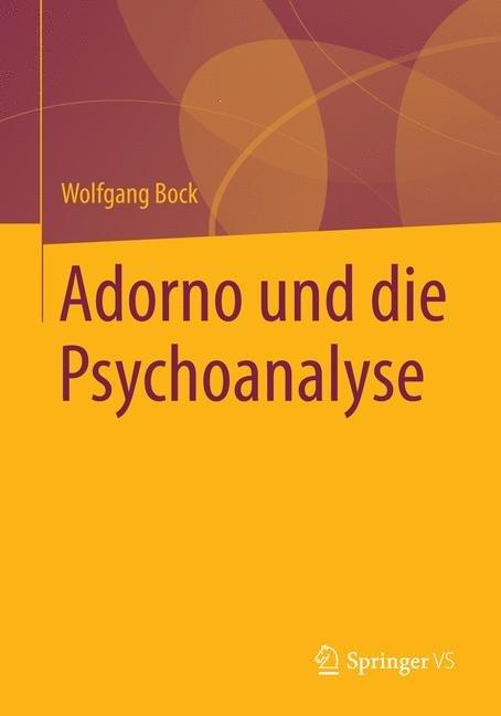 Adorno und die Psychoanalyse