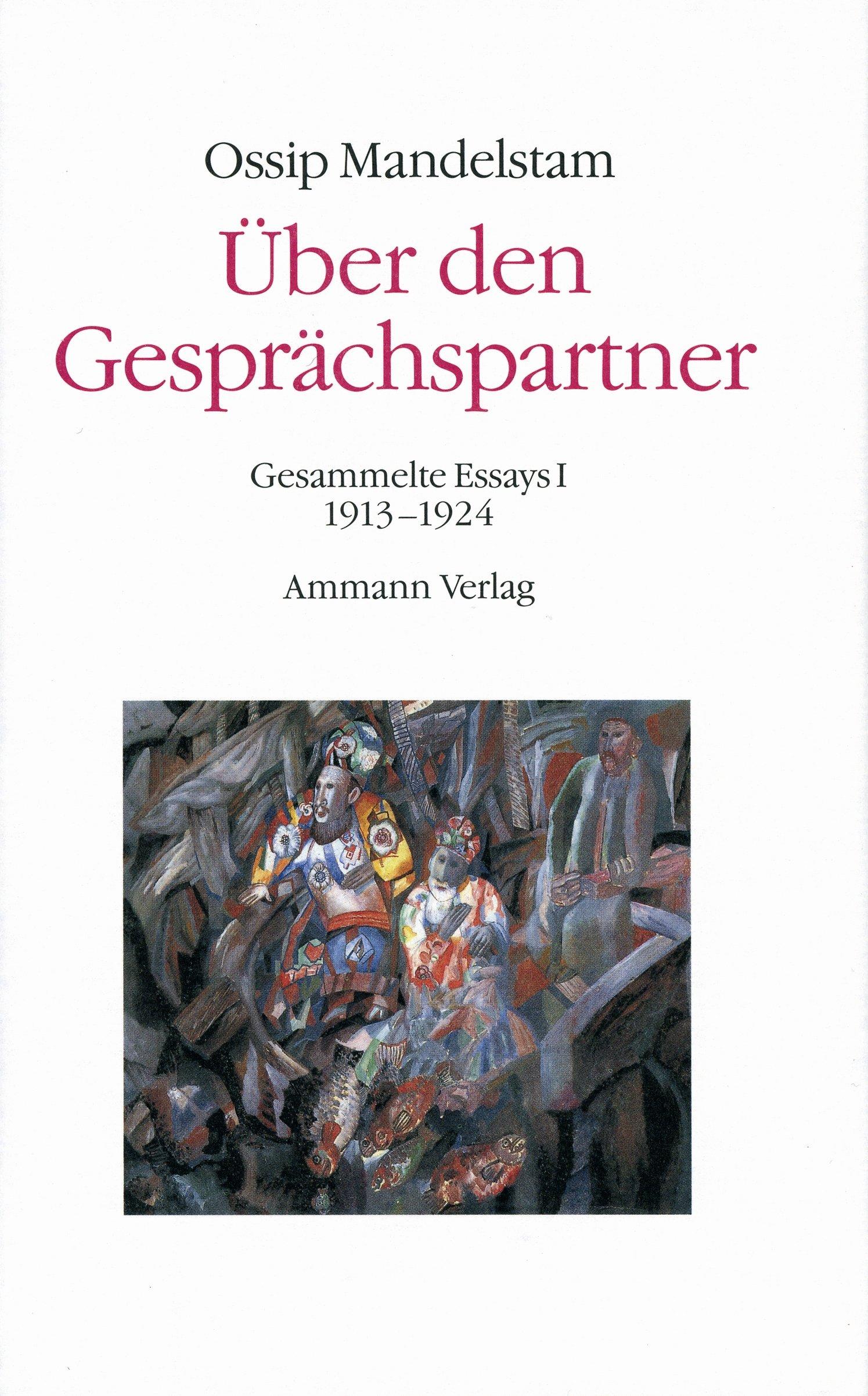 Über den Gesprächspartner - Gespräch über Dante (2 Bde.)