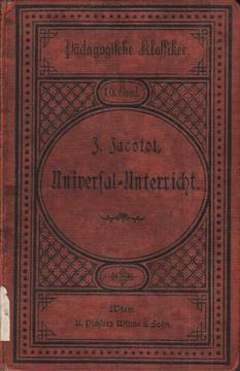 Joseph Jacot`s Universal-Unterricht