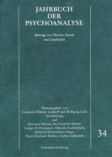 Jahrbuch der Psychoanalyse