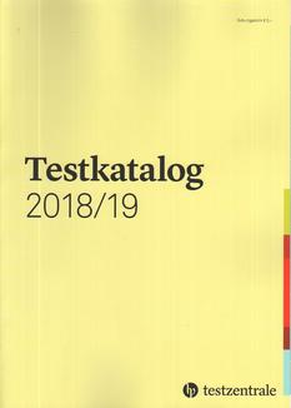 Testkatalog 2018/19