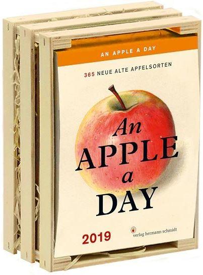 An Apple A Day Kalender 2019