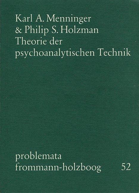 Theorie der psychoanalytischen Technik