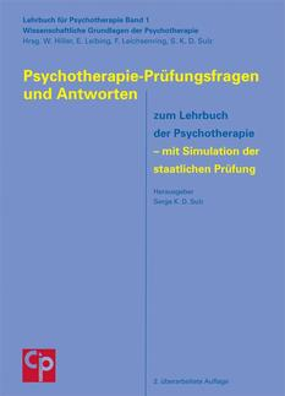 Psychotherapie-Prüfungsfragen und Antworten