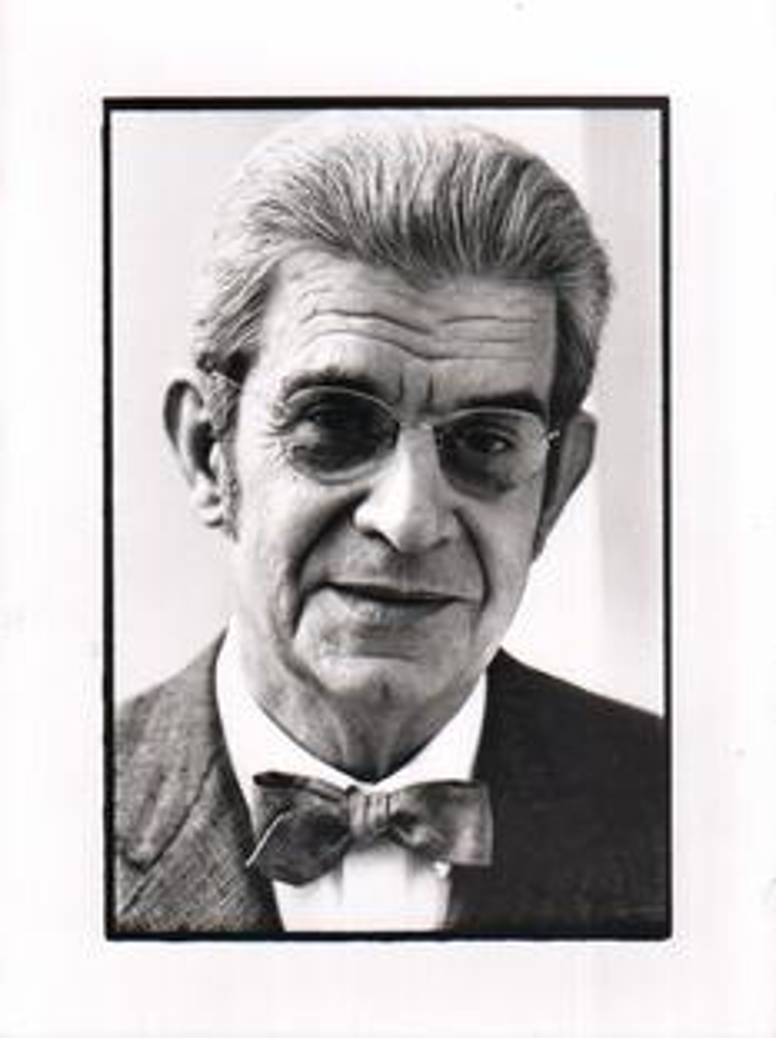 Portraitfoto Jacques Lacan (1967)