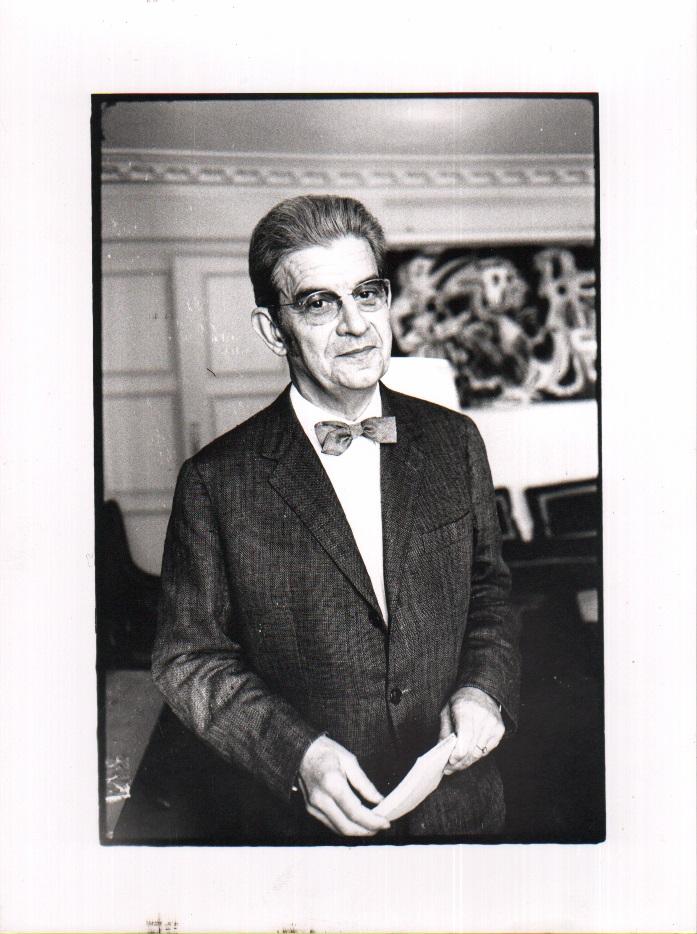 Portraitfoto Jacques Lacan (1967) - II
