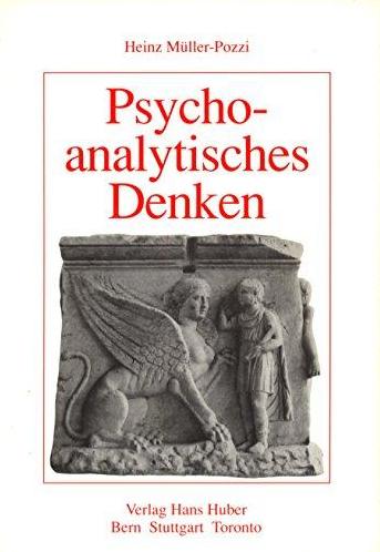 Psychoanalytisches Denken: