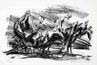 Ein Landarzt. Fünf Lithographien zu der Erzählung von Franz Kafka »Ein Landarzt«