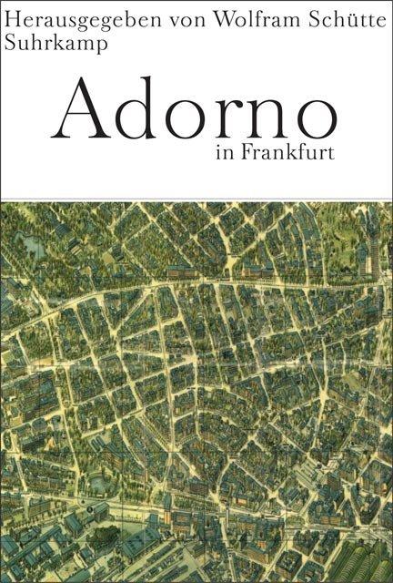 Adorno in Frankfurt