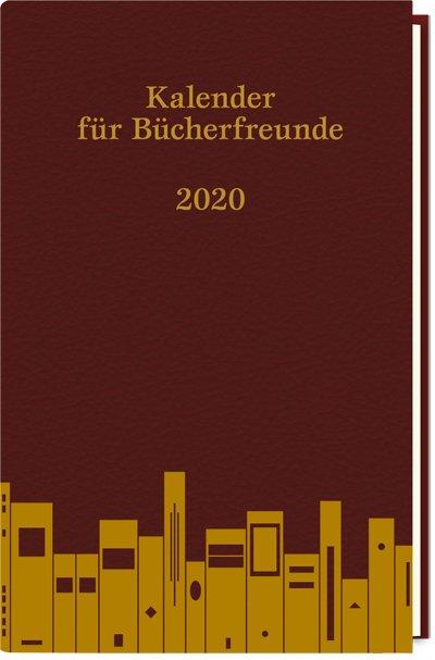 Kalender für Bücherfreunde. Das Jahr 2020
