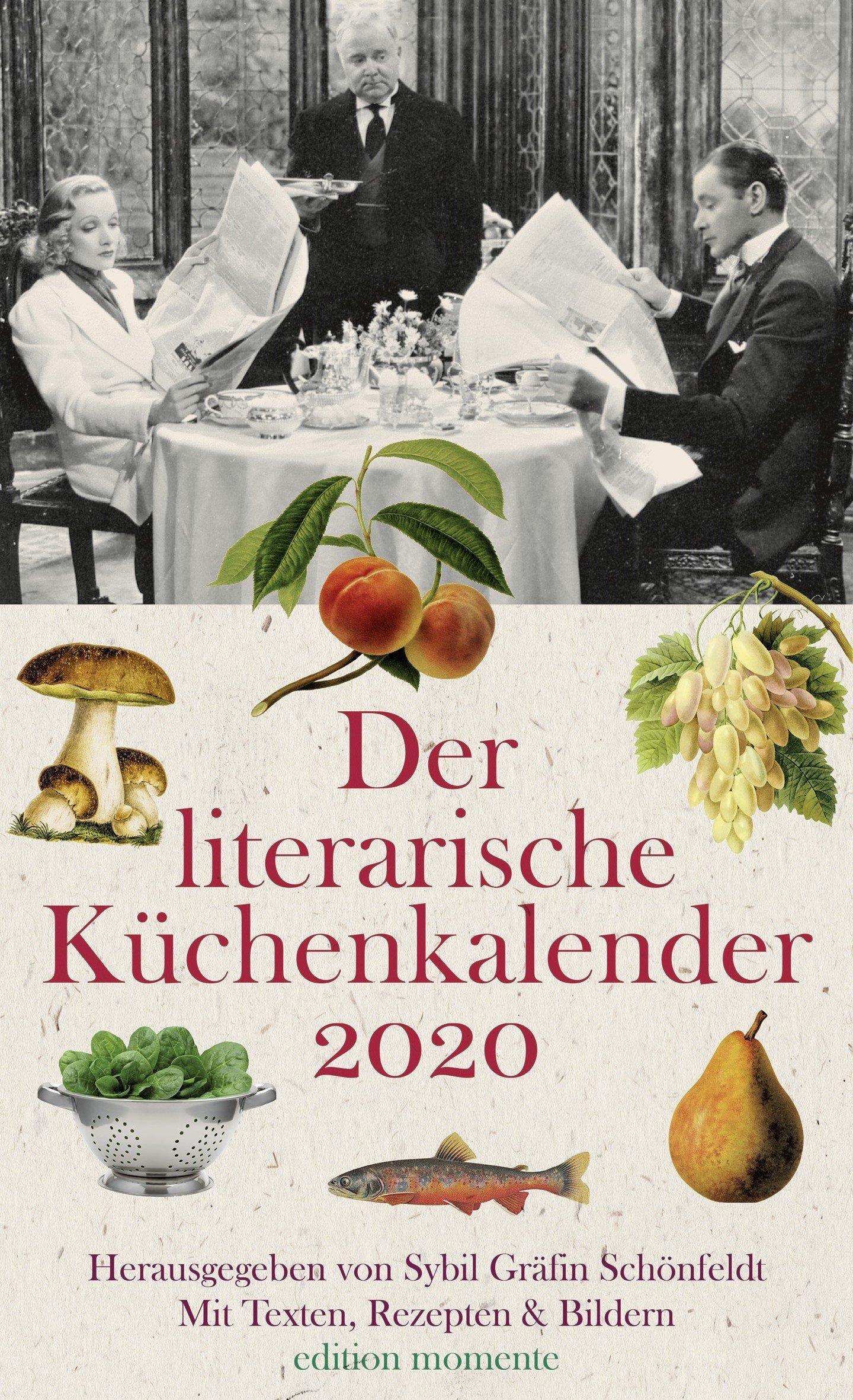 Der literarische Küchenkalender 2020