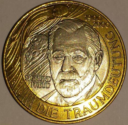 50 Schilling-Münze - limitierte Sonderprägung ›Sigmund Freud‹