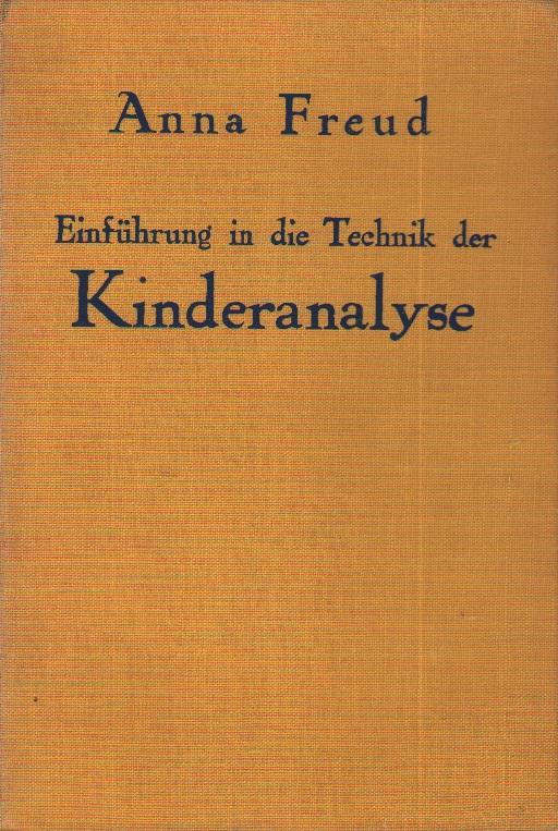 Einführung in die Technik der Kinderanalyse