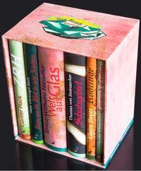 Die auf 100 Exemplare limitierte Neo Rauch-Vorzugsedition: 6 Romane in der Einbandgestaltung des Künstlers