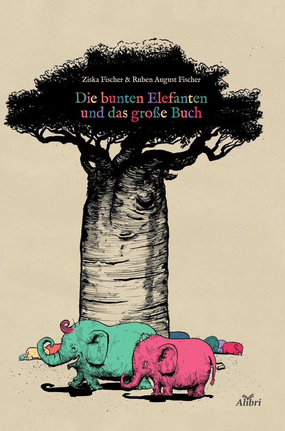 Die bunten Elefanten und das große Buch