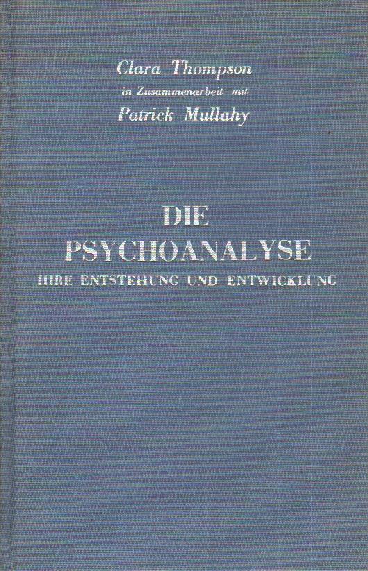 Die Psychoanalyse
