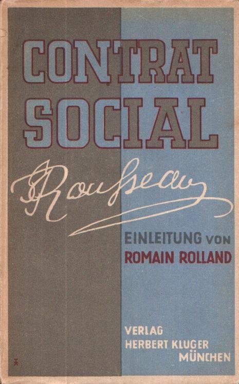 Contrat Social - Der Gesellschaftsvertrag