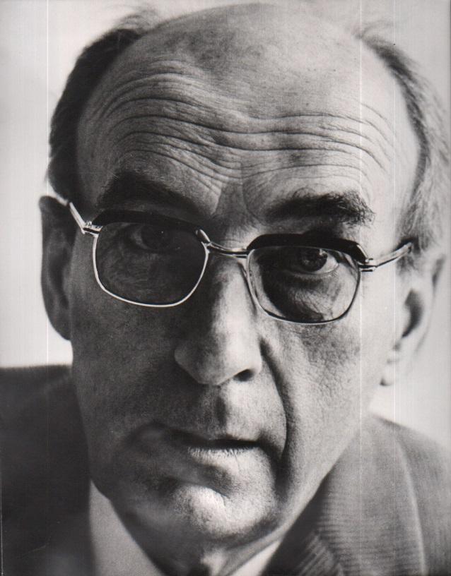 Alexander Mitscherlich - Original-Portrait