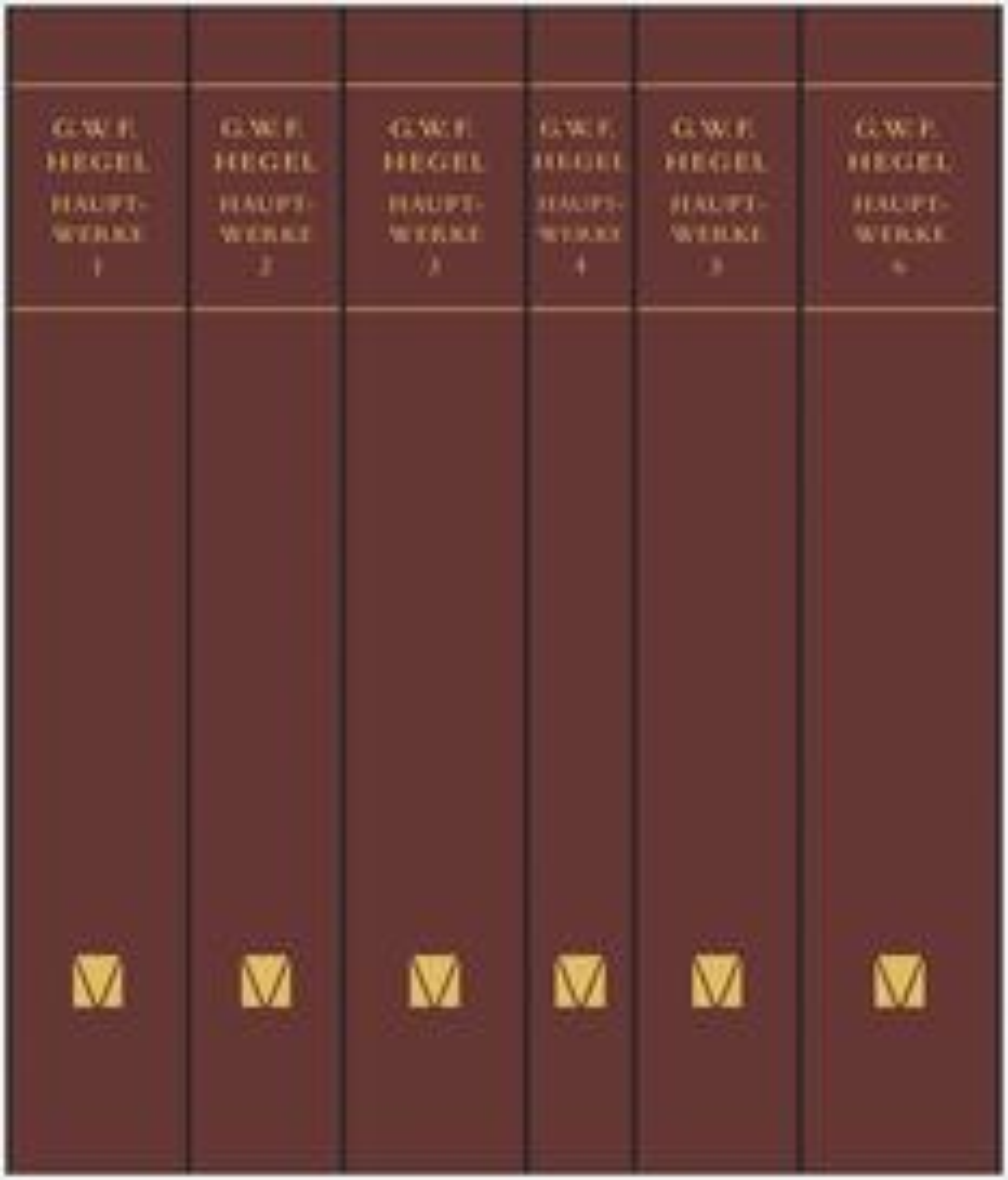 Hauptwerke in sechs Bänden