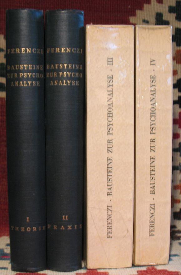 Bausteine zur Psychoanalyse (Erstausgabe)