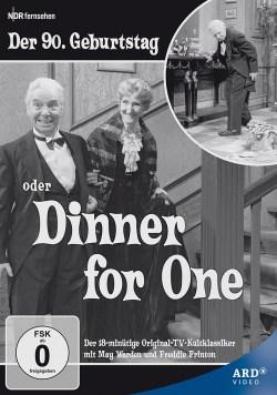 ›Dinner for one‹. - Freddie Frinton, Miss Sophie und der 90. Geburtstag