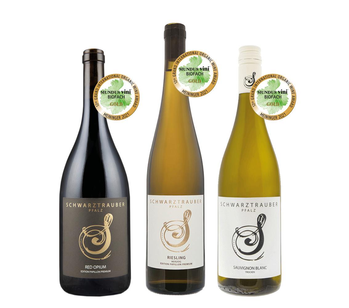 * SFB Wein-Probierpaket ›Golden Eyes‹