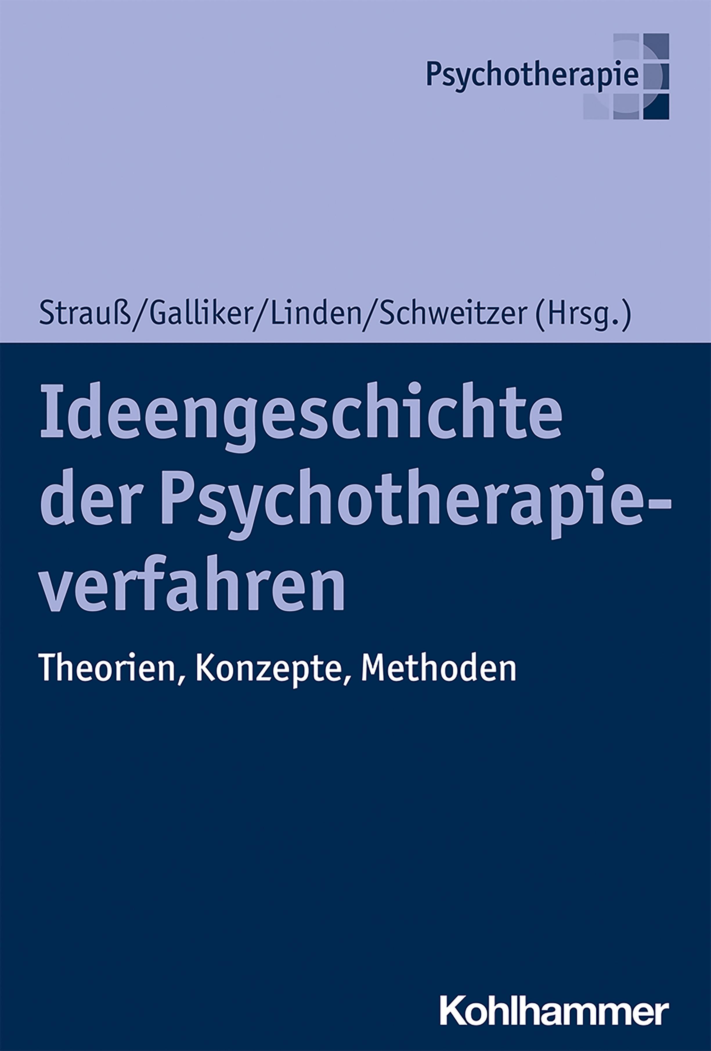 Ideengeschichte der Psychotherapieverfahren