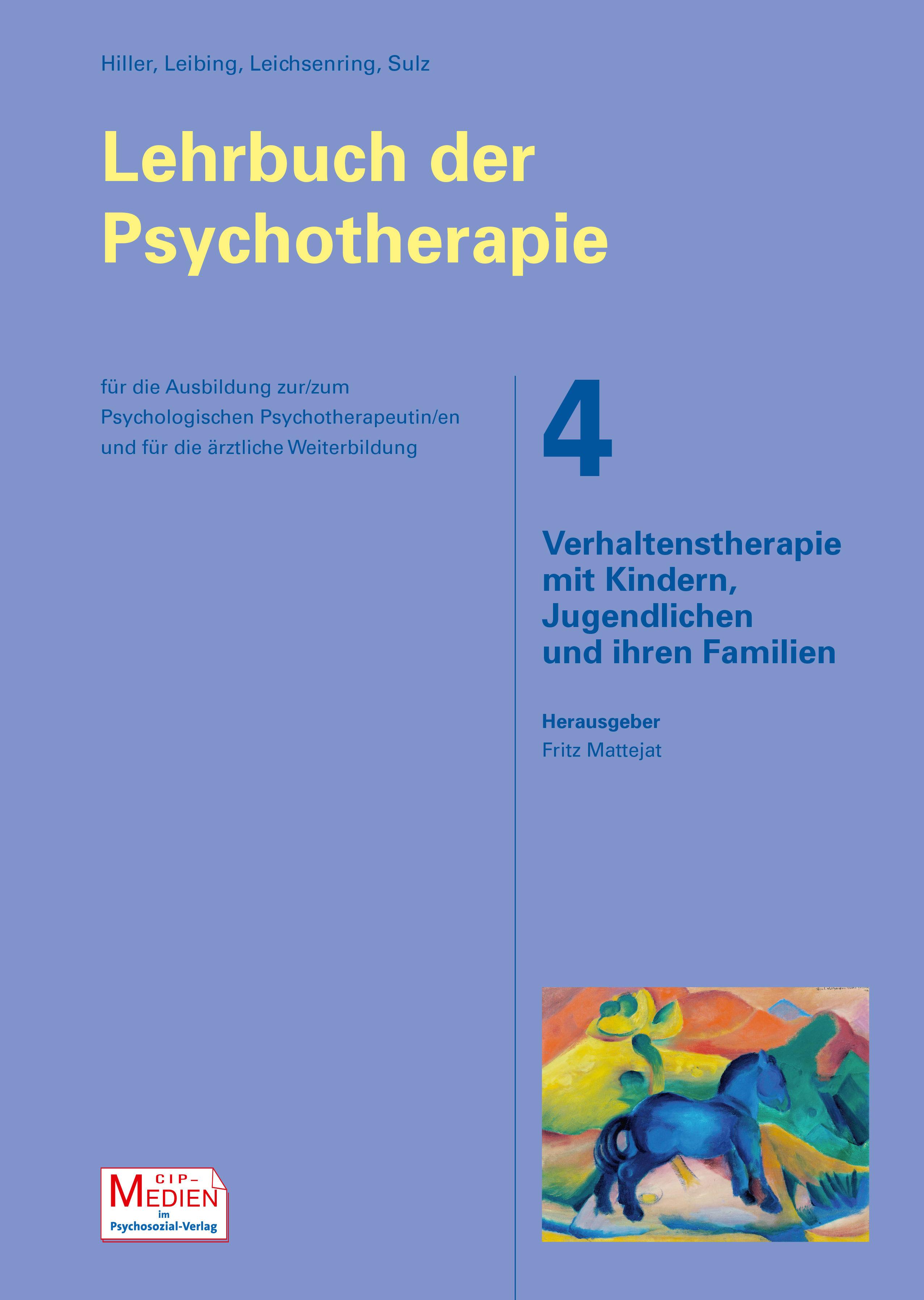 Lehrbuch der Psychotherapie