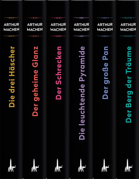 Arthur Machen - Werkausgabe in sechs Bänden