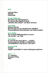 texte - psychoanalyse. ästhetik. kulturkritik