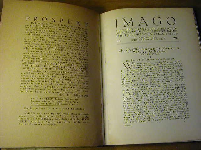 IMAGO, Reprint der Bände 1–23 (1912–1937)
