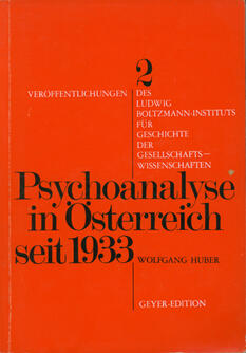 Psychoanalyse in Österreich seit 1933