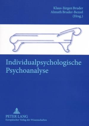 Individualpsychologische Psychoanalyse