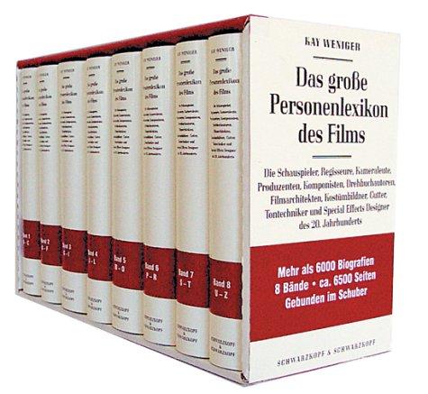 Das große Personenlexikon des Films in 8 Bänden