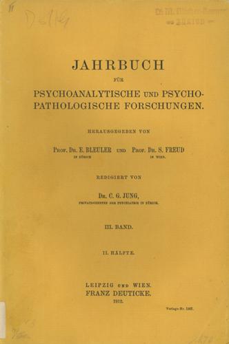 Jahrbuch für psychoanalytische und psychopathologische Forschungen