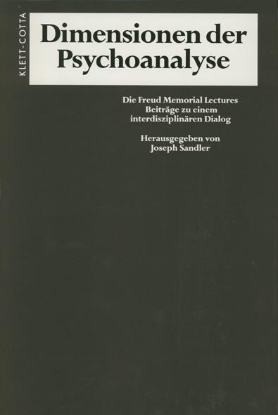 Dimensionen der Psychoanalyse