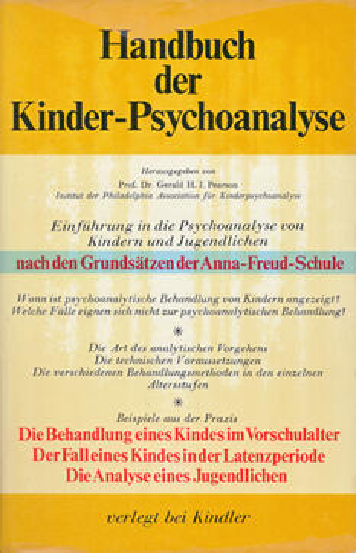 Handbuch der Kinder-Psychoanalyse