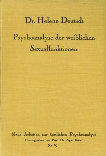 Psychoanalyse der weiblichen Sexualfunktionen