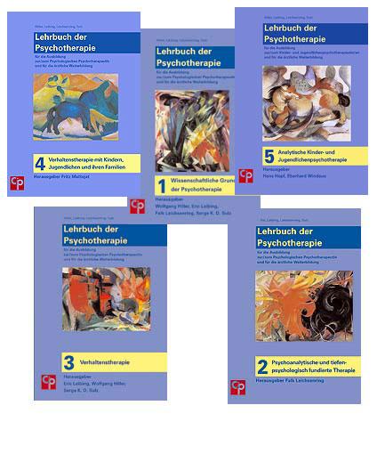 Lehrbuch der Psychotherapie. Gesamtwerk in 5 Bänden (=alles)