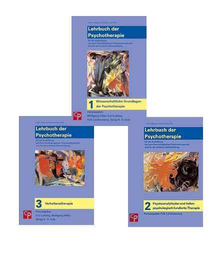 Lehrbuch der Psychotherapie (Bände 1–3)