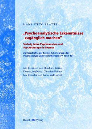 """""""Psychoanalytische Erkenntnisse zugänglich machen"""""""